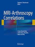 MRI-Arthroscopy Correlations af Stephen F. Brockmeier