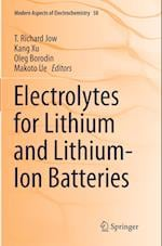 Electrolytes for Lithium and Lithium-Ion Batteries (MODERN ASPECTS OF ELECTROCHEMISTRY, nr. 58)