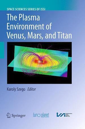The Plasma Environment of Venus, Mars and Titan