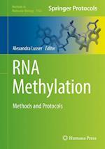 RNA Methylation : Methods and Protocols