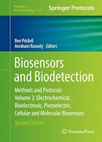 Biosensors and Biodetection : Methods and Protocols, Volume 2: Electrochemical, Bioelectronic, Piezoelectric, Cellular and Molecular Biosensors