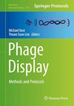 Phage Display (METHODS IN MOLECULAR BIOLOGY, nr. 1701)