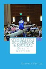 Gymnastics Scorebook & Journal