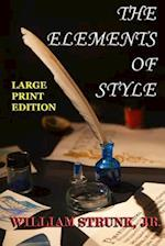 The Elements of Style - Large Print Edition