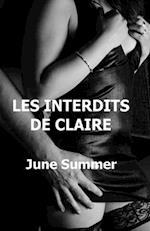 Les Interdits de Claire af June Summer