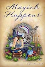 Magick Happens Journal af Jane Starr Weils