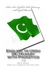 English to Urdu Dictionary with Phonetics
