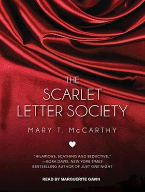 Lydbog, CD The Scarlet Letter Society af Mary T. Mccarthy
