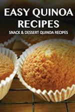 Snack & Dessert Quinoa Recipes