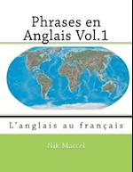Phrases En Anglais Vol.1 af Nik Marcel, Robert Salazar, Monique Cossard
