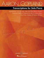 Transcriptions for Solo Piano af Aaron Copland
