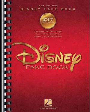 Bog, paperback The Disney Fake Book