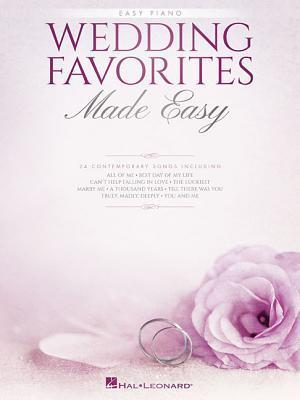 Bog, paperback Wedding Favorites Made Easy af Hal Leonard Publishing Corporation
