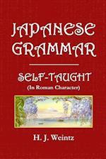 Japanese Grammar Self-Taught af H. J. Weintz