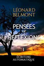 Pensees Et Reflexions - Tome I af Leonard Belmont