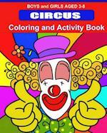 Circus Coloring and Activity Book af Kaye Dennan