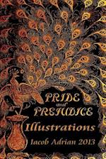 Pride and Prejudice Illustrations af Iacob Adrian