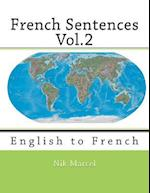 French Sentences Vol.2 af Nik Marcel, Monique Cossard, Robert Salazar