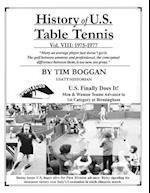 History of U.S. Table Tennis Volume 8