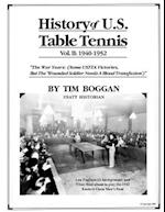History of U.S. Table Tennis Volume 2 af Tim Boggan