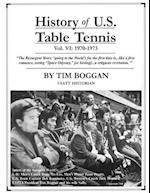 History of U.S. Table Tennis Volume 6