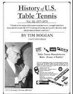 History of U.S. Table Tennis Volume 9 af Tim Boggan