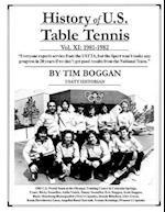 History of U.S. Table Tennis Volume 11