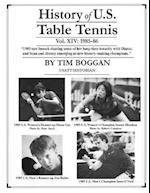 History of U.S. Table Tennis Volume 14