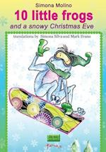10 Little Frogs and a Snowy Christmas Eve