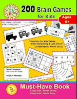 200 Brain Games for Kids ( Big Book Series ) af Husam Network