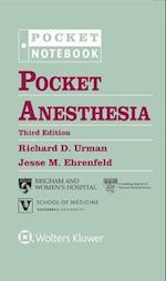 Pocket Anesthesia (Pocket Notebook Series)