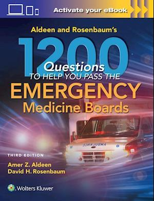Bog, paperback Aldeen and Rosenbaum's 1200 Questions to Help You Pass the Emergency Medicine Boards af Amer Aldeen