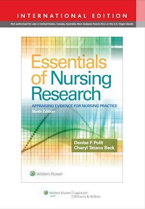 Bog, paperback Essentials of Nursing Research af Denise F. Polit