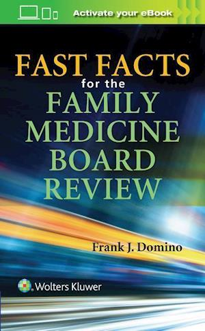 Bog, paperback 1000 Facts to Help You Pass the Family Medicine Boards af Frank J. Domino
