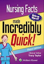 Nursing Facts Made Incredibly Quick (Incredibly Easy SeriesR)