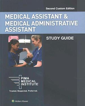 Bog, paperback PIMA Medical Institute Medical Assistant & Medical Administrative Assistant af Judy Kronenberger