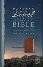 Dancing in the Desert Devotional Bible-NLT