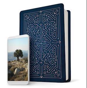 Filament Bible NLT (Leatherlike, Blue, Indexed)
