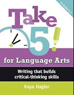Take 5! for Language Arts, Grades K-2 (Capstone Professional Maupin House)