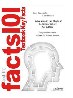 Advances in the Study of Behavior, Vol. 41 af CTI Reviews