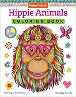 Hippie Animals Coloring Book (Coloring Is Fun)