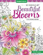 KC Doodle Art Beautiful Blooms Coloring Book (Kc Doodle Art)