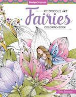 KC Doodle Art Fairies Coloring Book (Kc Doodle Art)