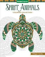 Spirit Animals (Filippo Cardu Coloring Collection) (Filippo Cardu Coloring Collection)
