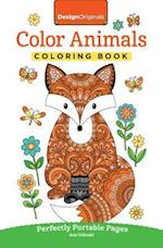 Color Animals Coloring Book (On the go Coloring Book)