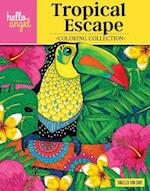 Hello Angel Tropical Escape Coloring Collection (Hello Angel Coloring Collection)