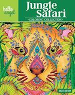 Hello Angel Jungle Safari Coloring Collection (Hello Angel Coloring Collection)
