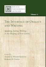 The Interface of Orality and Writing af Annette Weissenrieder