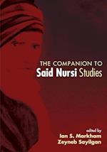 The Companion to Said Nursi Studies