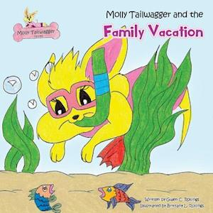 Bog, hæftet Molly Tailwagger and the Family Vacation af Gwen C. Rollings